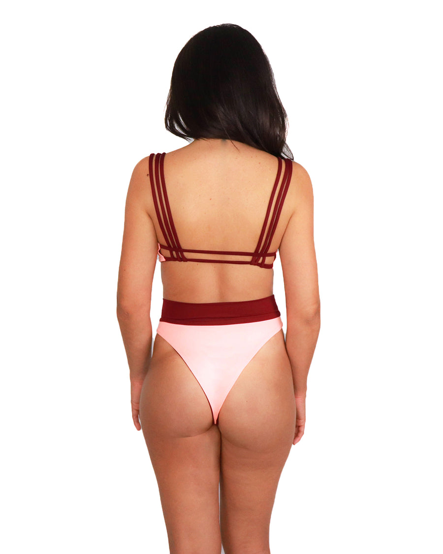 Ubud Bottom // Coral-Burgundy