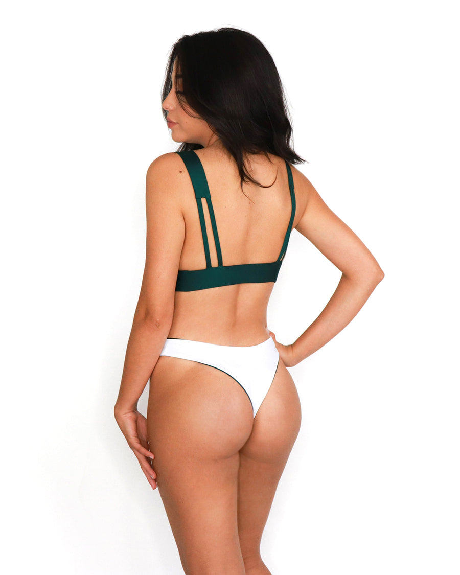 Kata Bottom // Teal-White