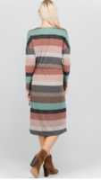 Blushing Stripes Dress
