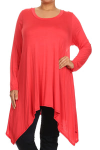 Swinging Sassy Tunic- Plus Size