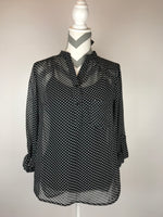Perfect for Pattern-Mixing Polka Dot Shirt