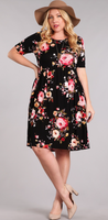 Roses are Blooming Dress