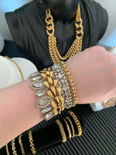 Stunning Vintage 1950's Weiss Crystal Bracelet