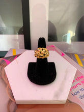 Kenneth Jay Lane Polished Gold Knot Ring