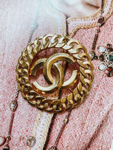 Vintage 1990's Gold Chanel CC Brooch