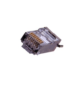 Platinum Connector Shielded CAT6 23AWG ESD Connector with Boots