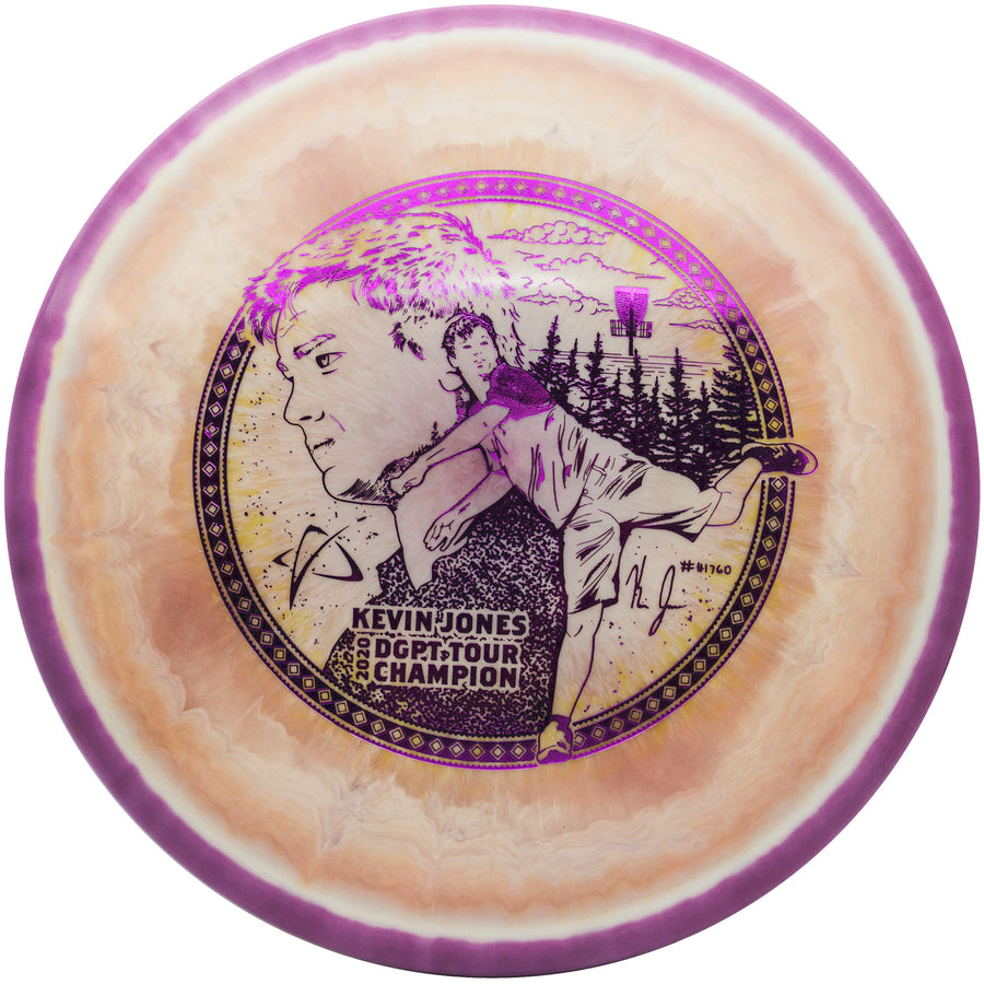 Prodigy A3 Approach Disc - 750 Spectrum Plastic - Kevin Jones Signature Series DGPT Champion Edition
