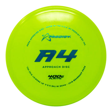 Prodigy A4 Approach Disc - 400G Plastic
