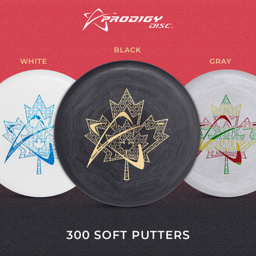 Prodigy PA-3 Putt Approach Disc 300 Soft Plastic SE Chains in Leaf Stamp