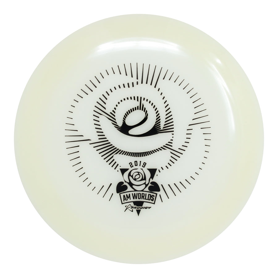 Prodigy D3 Max 400 GLOW Distance Driver - 2019 AM Worlds Stamp