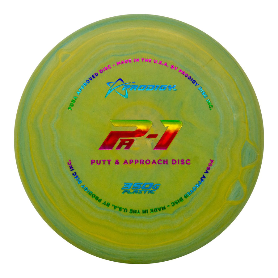 Prodigy PA-1 Putt & Approach Disc - 350G Plastic- 5 or 10 Disc Bundle