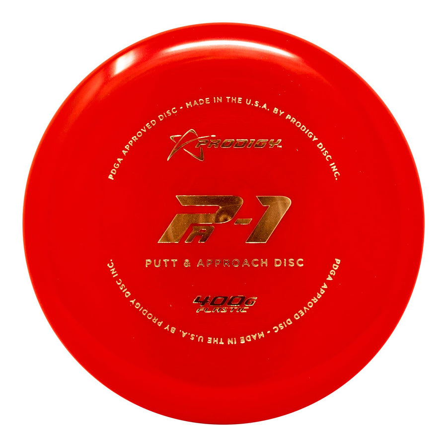 Prodigy PA-1 Putt & Approach Disc - 400G Plastic