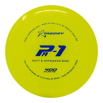 Prodigy PA-1 Putt & Approach Disc - 400 Plastic