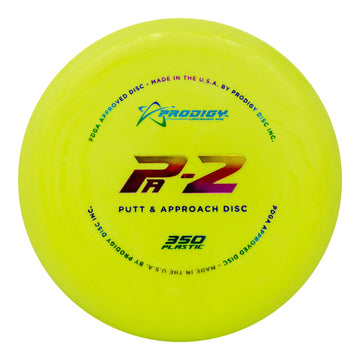 Prodigy PA-2 Putt & Approach Disc - 350 Plastic