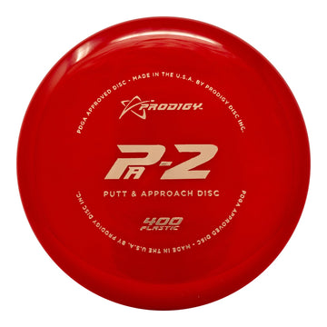 Prodigy PA-2 Putt & Approach Disc - 400 Plastic