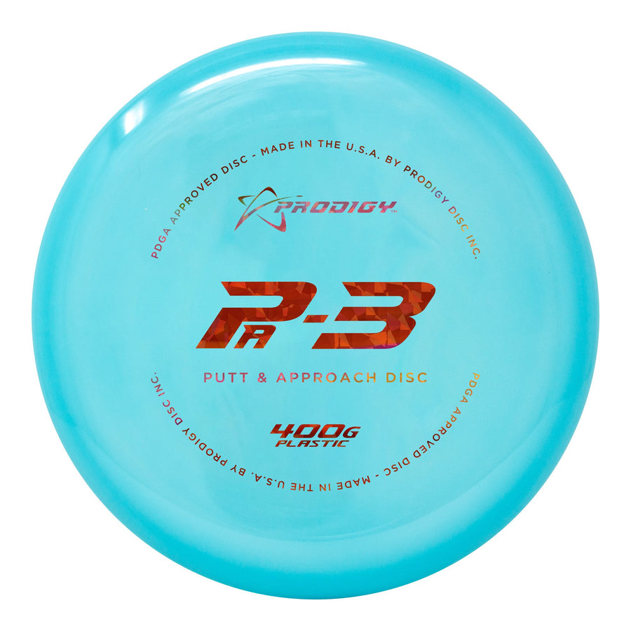 Prodigy PA-3 Putt & Approach Disc - 400G Plastic