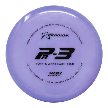 Prodigy PA-3 Putt & Approach Disc - 400 Plastic - 5 or 10 Disc Bundle