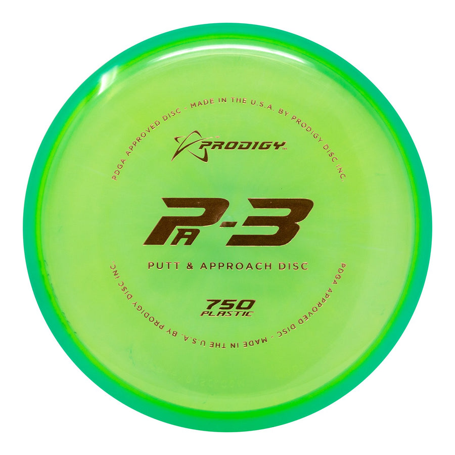 Prodigy PA-3 Putt & Approach Disc - 750 Plastic