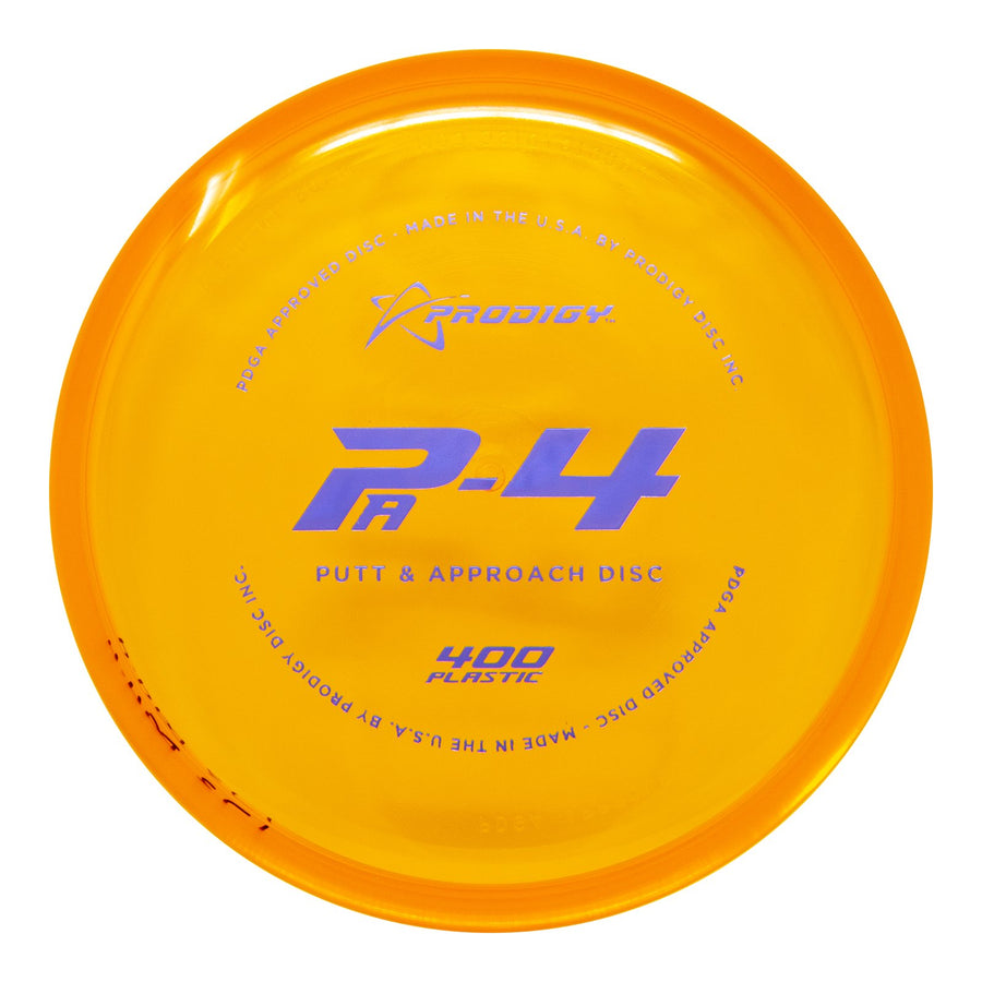 Prodigy PA-4 Putt & Approach Disc - 400 Plastic