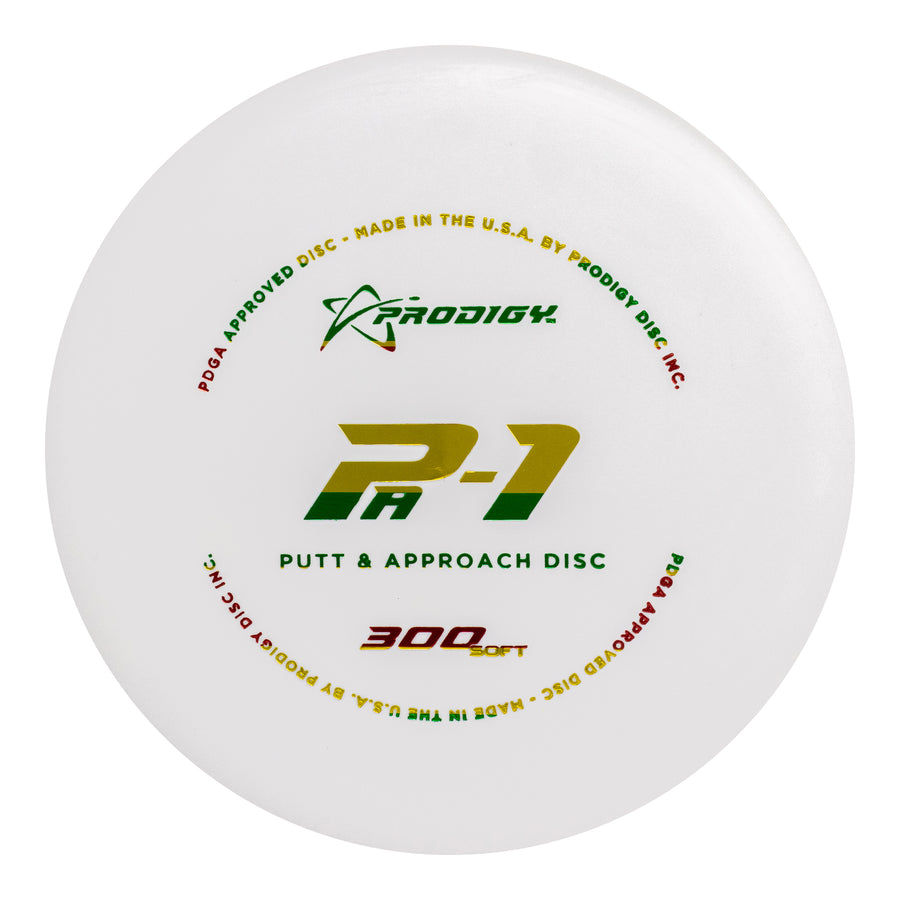 Prodigy PA-1 Putt Approach Disc 300 Soft Plastic