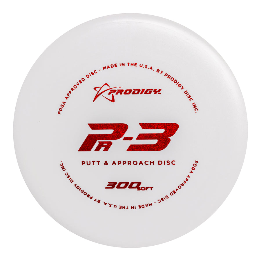 Prodigy PA-3 Putt Approach Disc 300 Soft Plastic
