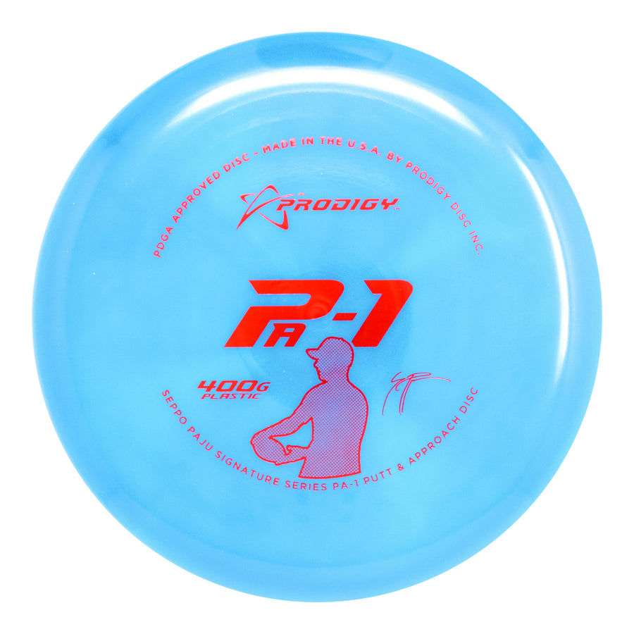 Prodigy PA-1 Putt & Approach Disc - 400G Plastic - Seppo Paju Signature Series