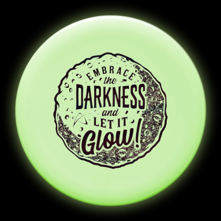 Prodigy M4 Midrange Disc - 300 GLOW Plastic - Embrace The Darkness