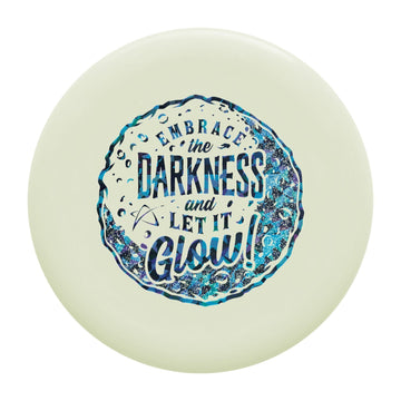 Prodigy PA-1 Putt & Approach Disc - 300 GLOW Plastic - Embrace The Darkness