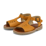 Belle Sandal in Mustard