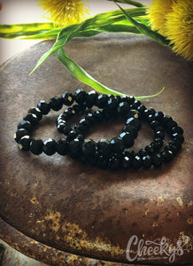 3 Strand Salty Stack - Black