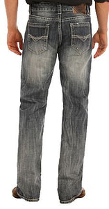 "Rock&Roll - Double Barrel ""V"" Jean"