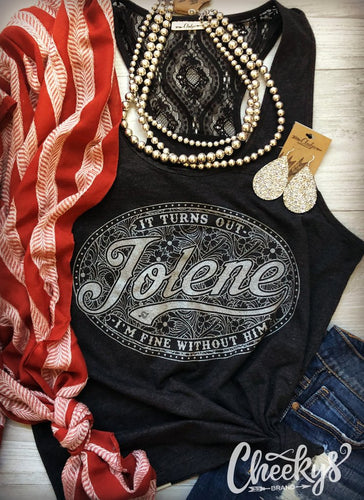 Jolene Lace Back Tank