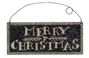 Merry Christmas Tile Sign
