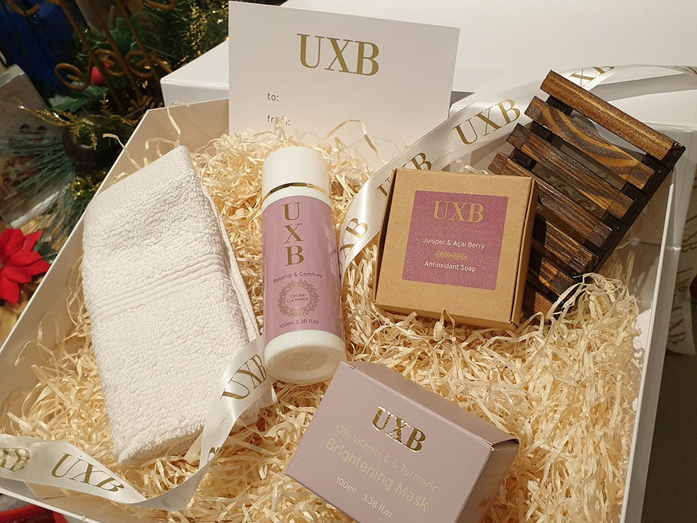 UXB Skincare Gift Box - Our best selling products in a luxury gift box