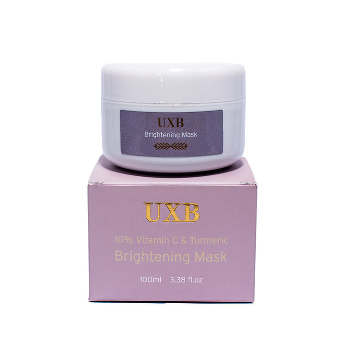 Brightening Mask - 10% Vitamin C & Turmeric for an even skin tone