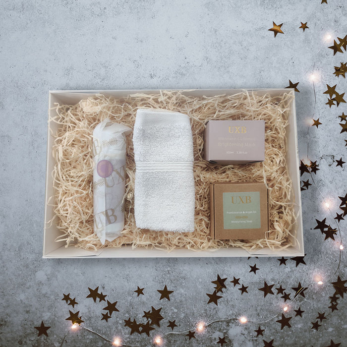UXB Skincare Gift Box - Our best selling products in a luxury gift box - UXB natural Skincare
