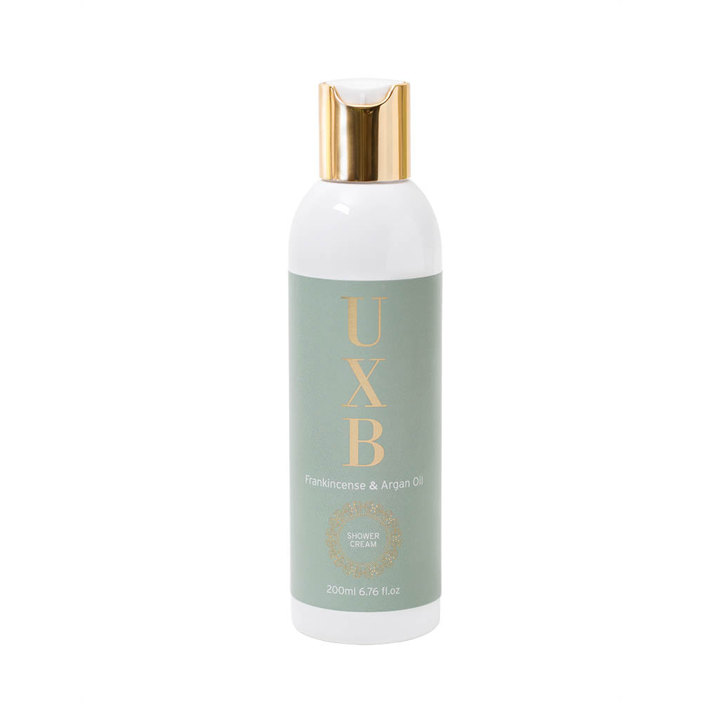 Load image into Gallery viewer, Frankincense & Argan Oil in-shower moisturiser - for very dry skin - UXB natural Skincare
