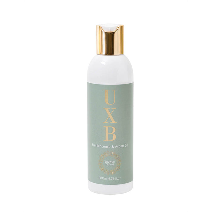 Frankincense & Argan Oil in-shower moisturiser - for very dry skin - UXB natural Skincare