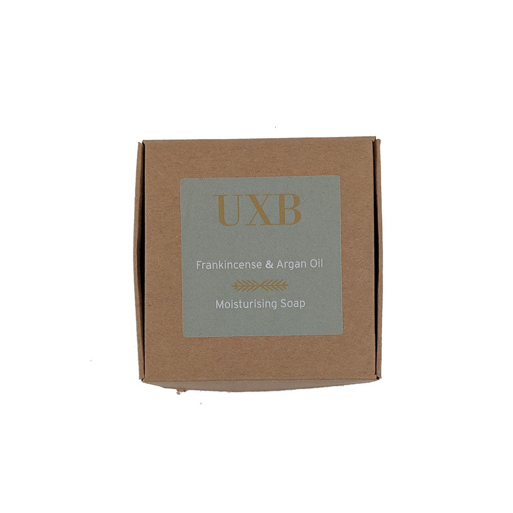 Load image into Gallery viewer, Frankincense & Argan Moisturising Soap - UXB natural Skincare