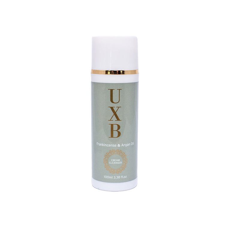 UXB Frankincense & Argan Oil Cream Cleanser - Our super-moisturising face wash for very dry skin