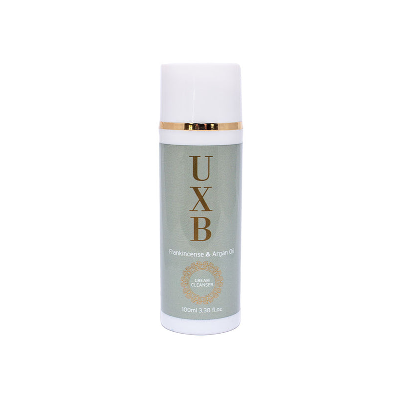 UXB Cream Cleanser - Moisturising face wash for Very Dry Skin - UXB natural Skincare