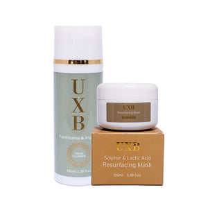 Home Facial Kit for Very Dry Skin - UXB natural Skincare