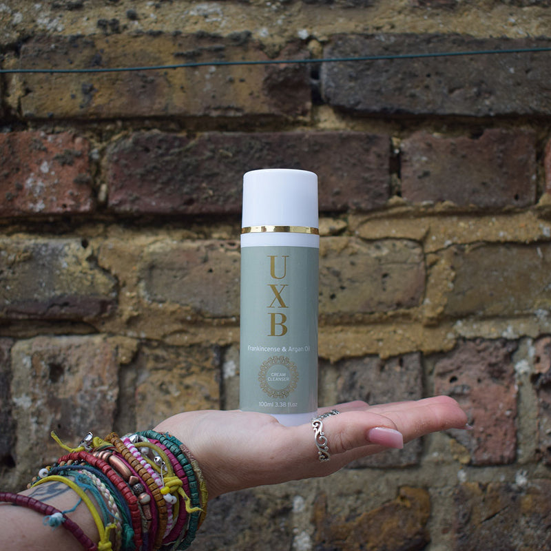 UXB Frankincense & Argan Oil Cream Cleanser - Our super-moisturising face wash for very dry skin - UXB natural Skincare