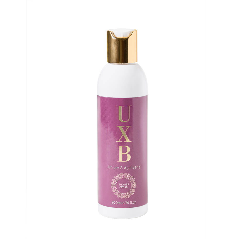 Juniper & Acai Berry in-shower moisturiser - pollution protector - UXB natural Skincare
