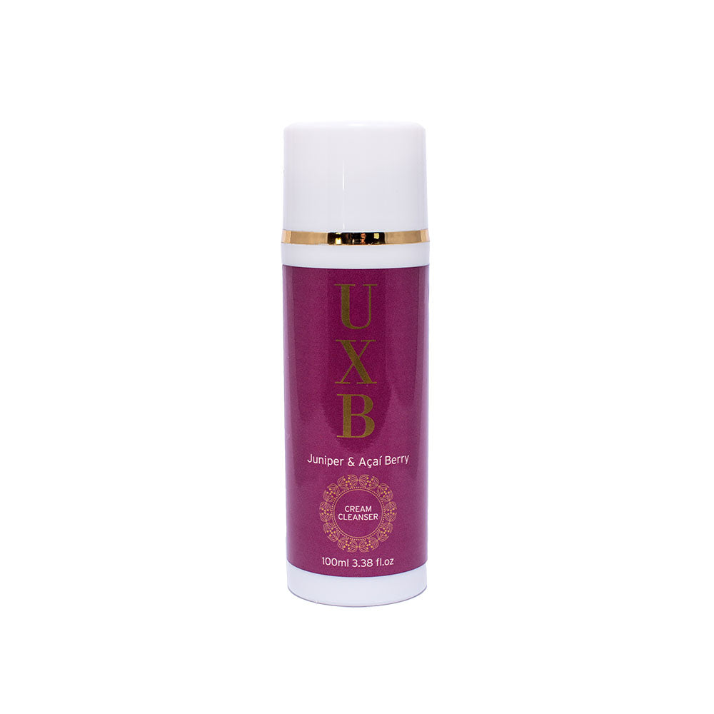 UXB Juniper & Açaí Berry Cream Cleanser - Our antioxidant-packed pollution fighter - UXB natural Skincare