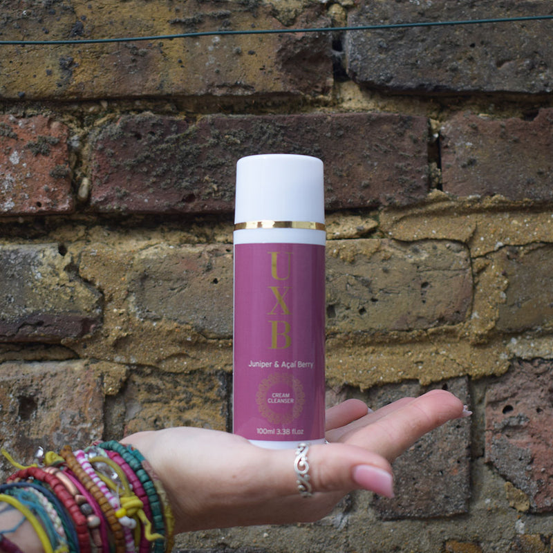 UXB Cream Cleanser - Antioxidant rich face wash for city skin - UXB natural Skincare