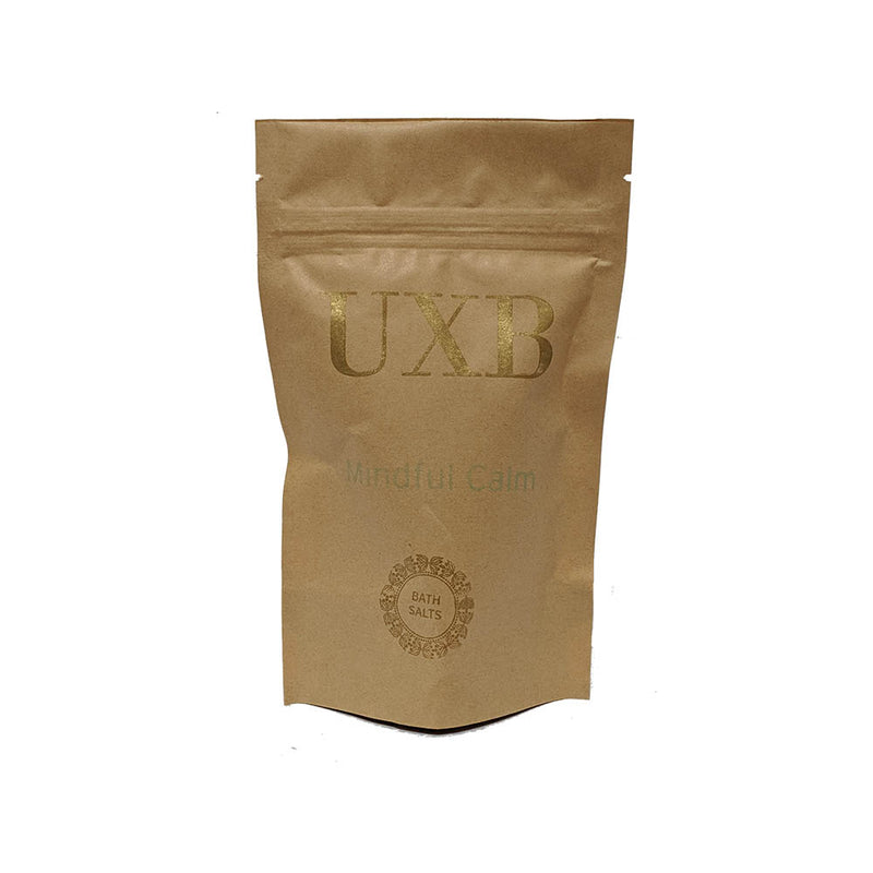 Mindful Calm - Bath Salts - UXB natural Skincare