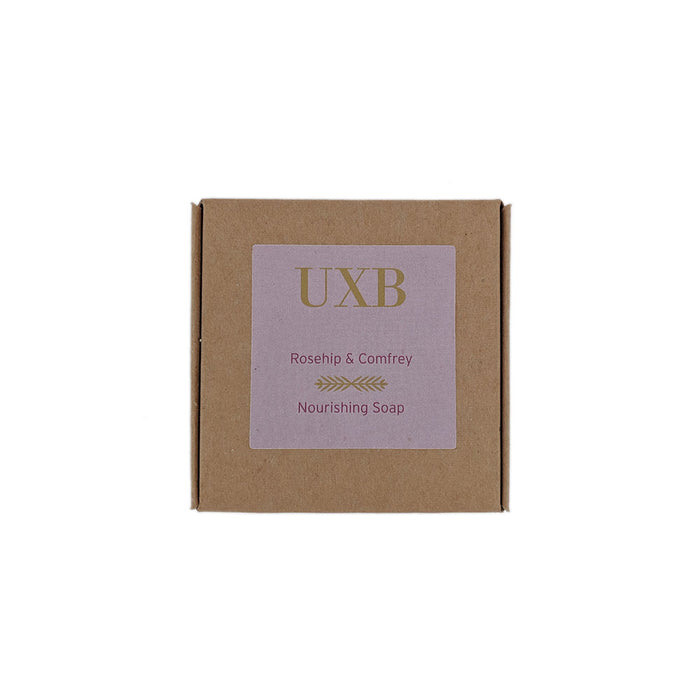 Rosehip & Comfrey Moisturising Soap - Large bar - UXB natural Skincare