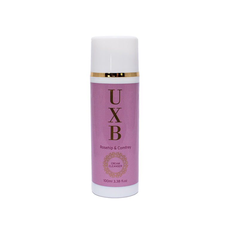 UXB Cream Cleanser - Face wash extra dry, mature and combination skin