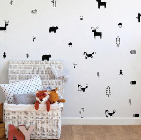 wallpaper - wall decal for kids room